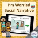 I Get Worried Interactive Social Narrative BOOM Cards™ dig