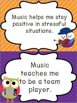 I Give a HOOT About Music Bulletin Board Kit