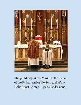 I Go to Holy Mass