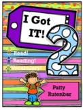 I'm Ready Vocabulary for 2nd Graders- I Got It!