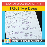 I Got Two Dogs • Back to School Book Companion Activity •