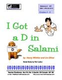 I Got a 'D' in Salami - Hank Zipzer:  Grades 4-6