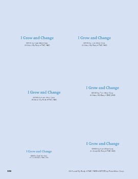 I Grow and Change: Storyboard Pieces