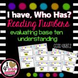 Reading Numbers BASE TEN