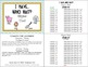 """I HAVE…WHO HAS? """"RHYME TIME!"""" CVC words with 3 differentiated Follow-Up sheets"""