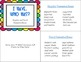 """I HAVE…WHO HAS?  """"Singular and Plural Possessive Nouns"""" & Follow-Up worksheet"""