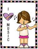 """I """"HEART"""" Music Poster"""