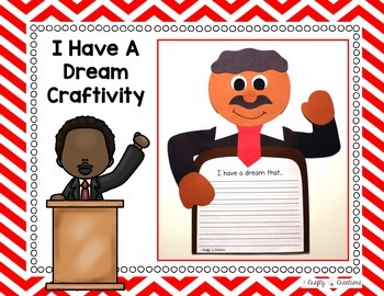 I Have A Dream Craftivity (Martin Luther King Jr.)