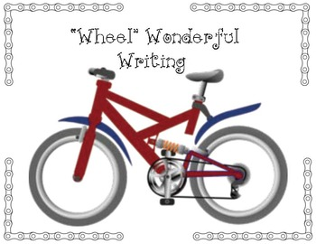 "I Had A ""Wheel"" Great Year/Summer Writing Prompt Craft"
