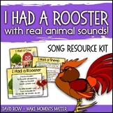 I Had a Rooster - Cumulative Folk Song with Real Animal Sounds