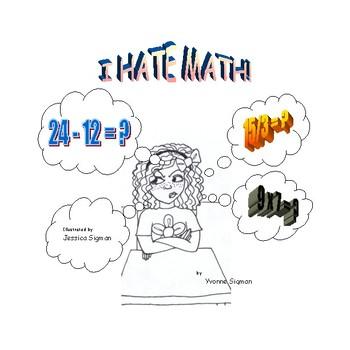I Hate Math book