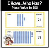 I Have... Who Has? A Place Value to 100 Game
