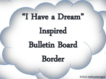 """""""I Have A Dream"""" Borders"""