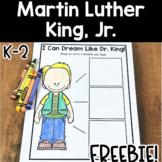Martin Luther King, Jr. FREEBIE