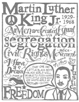 'I Have A Dream' - Martin Luther King Jr Speech Highlights PDF