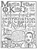 'I Have A Dream' - Martin Luther King Jr Speech Highlights PDF