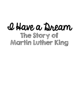 I Have A Dream Novel Guide