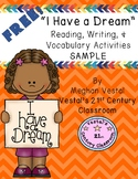 I Have A Dream Reading, Writing, & Vocab Sample