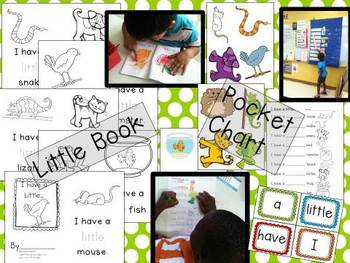 """I Have A Little"" Little Book & Pocket Chart Set"