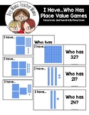 I Have... A Place Value Game (Combined Version)