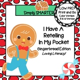 I Have A Retelling In My Pocket:  Gingerbread Man Retelling Activity