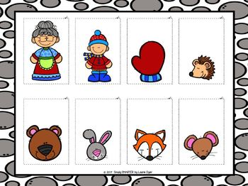 I Have A Retelling In My Pocket:  The Mitten Retelling Activity