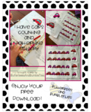 I Have Cars Counting and Patterning Activity