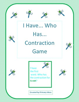 I Have... Contraction Game