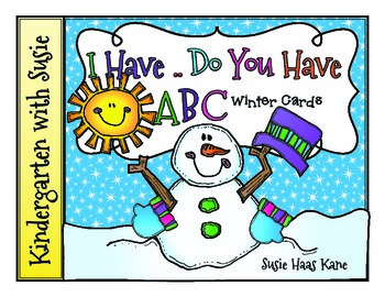 I Have ... Do You Have? Winter ABC Cards