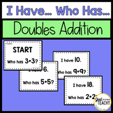 """I Have..."" Doubles Addition Game"