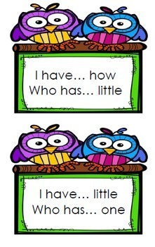 I Have Who Has Sight Word Bundle for Reading Wonders 2nd grade {Units 1-6}