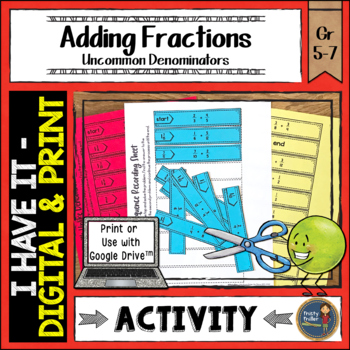 Adding Fractions with Unlike Denominators I Have It