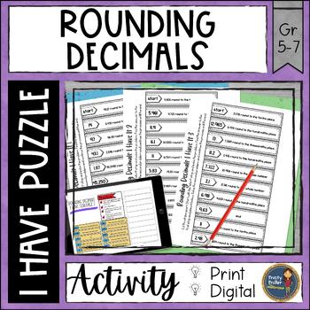 Rounding Decimals I Have It