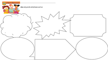I Have Manners Graphic Organizer