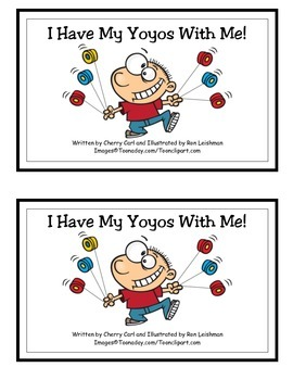 I Have My Yoyos With Me! Word Family Guided Reader for -y