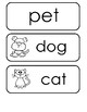 I Have One Pet - Emergent Reader With Word Cards