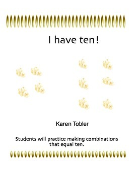 I Have Ten- combinations that equal 10