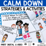 I Have Ways To Calm Down When I Am Angry Or Frustrated (A Social Story)