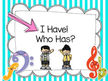 I Have, Who Has....?