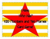 I Have, Who Has? 1-20 Ten Frames and Numbers Card Game