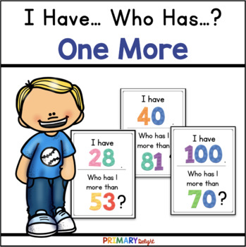 One More: I Have... Who Has...? (A Place Value Game)