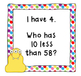 Place Value Game- I Have, Who Has 10 Less