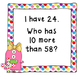 Place Value Game- I Have, Who Has 10 More
