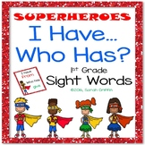 I Have Who Has - First Grade Sight Words Game