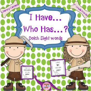 I Have... Who Has...?- 1st Grade Sight Words