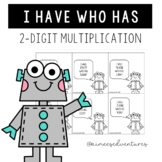 End of the Year Activity | I Have, Who Has 2-Digit Multiplication Game