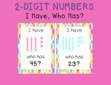 I Have Who Has 2-Digit Numbers
