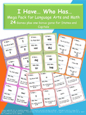 I Have... Who Has... 26 Games (+1 Bonus) Jumbo Pack for Math and Language Arts