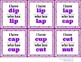 I Have Who Has (36 CVC word cards)