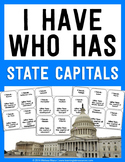 I Have Who Has - 50 State Capitals